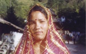 Индийская женщина