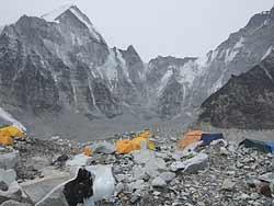 Непал. Базовый лагерь под Эверестом