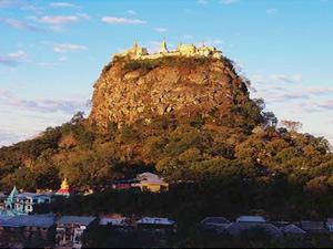 Мьянма: Гора Поупа