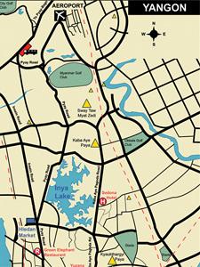 Карты Мьянмы