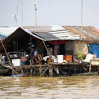 Камбоджа: Озеро Тонле Сап