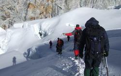 По леднику – в связке