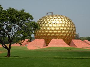Тур в Южную Индию. Ауровиль
