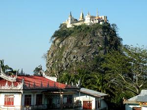 Тур в Бирму. Гора Поупа
