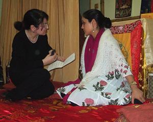 Индия. Встреча с принцессой