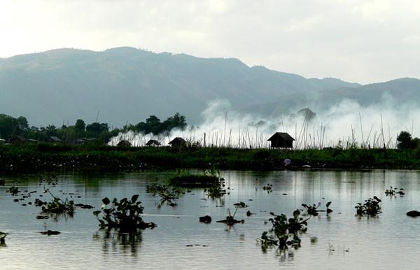Мьянма (Бирма). Озеро Инле