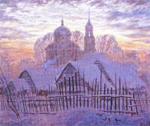 Выставка пяти художников. о. Александр (Егоров)
