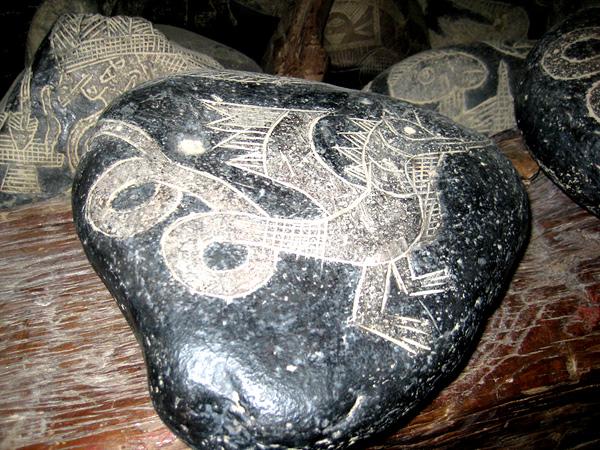 Тур в Перу. Ика. Метеоритные камни