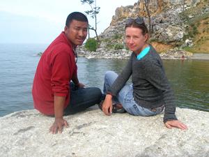 Наши гиды: Наталья Савченко и Таши Вангди (Йеши)