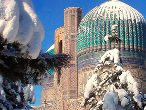 Тур в Узбекистан на Рождество
