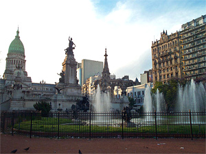 Тур в Аргентину и Бразилию. Буэнос-Айрес