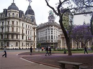 Тур в Аргентину, Чили и Бразилию. Буэнос-Айрес
