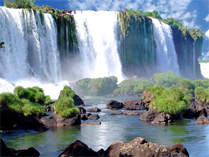 Тур в Аргентину и Бразилию. Водопад Игуасу