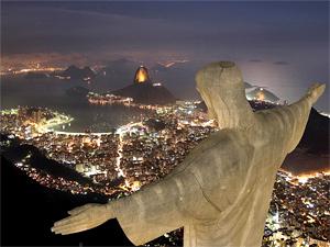 Тур в Аргентину, Чили и Бразилию. Рио-де-Жанейро
