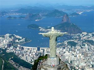 Тур в Аргентину и Бразилию. Рио-де-Жанейро