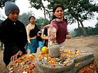 Праздники Непала. Фестиваль Бала Чатурдаси