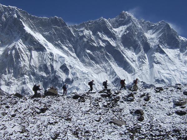 Восхождения в Непале. Лхоцзе