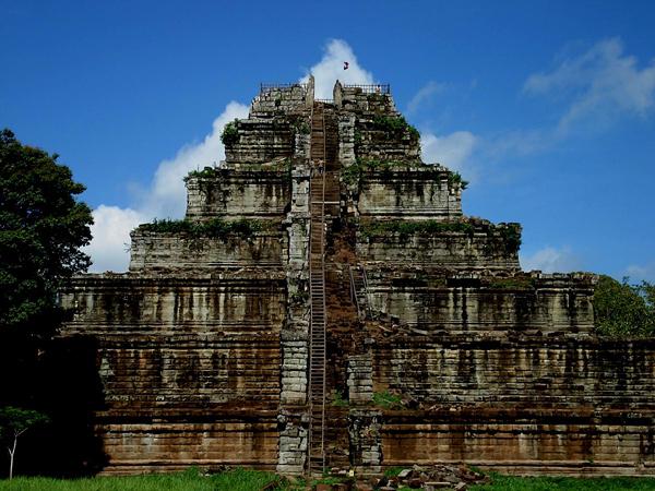 Храмы Камбоджи. Кох Ке