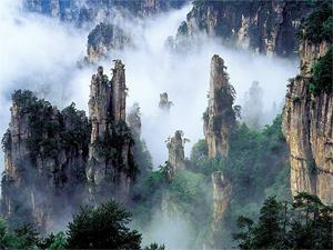 Тур Китай. Чжанцзянцзе. Горы Аватара