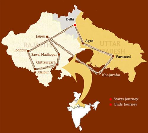 Отдых в Индии. Поезд Королевский Раджастан на колесах