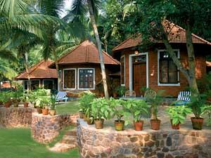 Аюрведа в Керале. отели Сомалтирам и Маналтирам