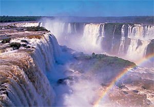 Тур в Аргентину, Чили и Уругвай. Водопады Игуасу