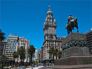 Тур в Аргентину, Чили и Уругвай. Монтевидео