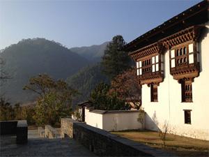 Тур в Бутан. Отель Amankora Punakha
