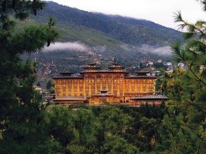 Тур в Бутан. Отель Taj Tashi