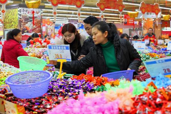 Китай. Подготовка к встрече Нового года