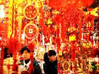 Китай. Подготовка к Новому году