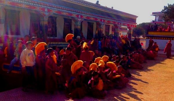 Индия. Фестиваль Цам в Менри