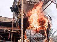 Традиции Индонезии. Большая царская кремация