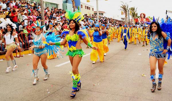 Мексика. Карнавал в Веракрусе