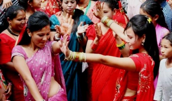 Непал. Праздник Шри Панчами