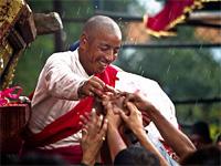 Большой фестиваль Рато Махендранатх Ятра. Непал
