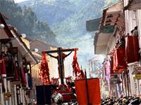 Перу. Ежегодная процессия выхода Бога землетрясений в Куско