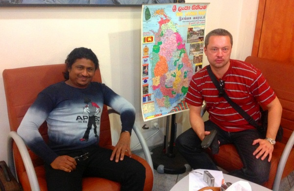 Туры в Шри-Ланку с Даммика Пушпакумаром