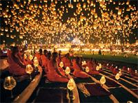 Праздники Таиланда. Фестиваль Лои Кратонг