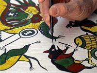 Культура Вьетнама. Уникальная гравюра Донг Хо