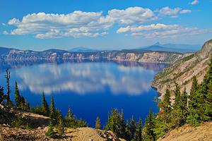 Национальный парк Озера Крейтер. США