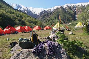 Горная школа в горах Чимгана