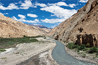 Индия. Трек в долину Маркха. Гималаи
