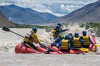 Тур в Индию. Сплав по реке Занскар
