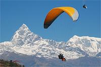 Тур в Непал. Параглайдинг