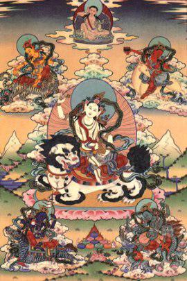 Буддизм. Пять дакини