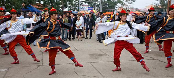 Монголия, фестиваль Наадам. Фото